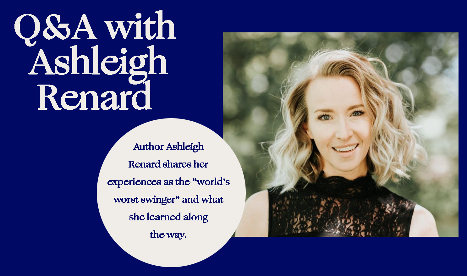 Getting intimate with Swing author Ashleigh Renard
